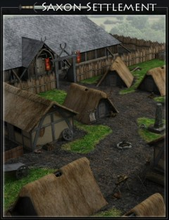 Saxon Settlement by Merlin