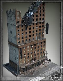 City Ruins Building 02