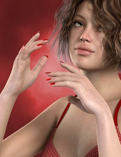 Pretty Hands Poses and Nail Colors for Genesis 2 Female(s)
