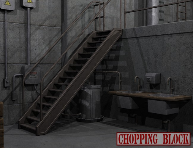 Chopping Block Garage Environments And Props For Daz