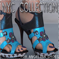 NYC for Angelina Shoes