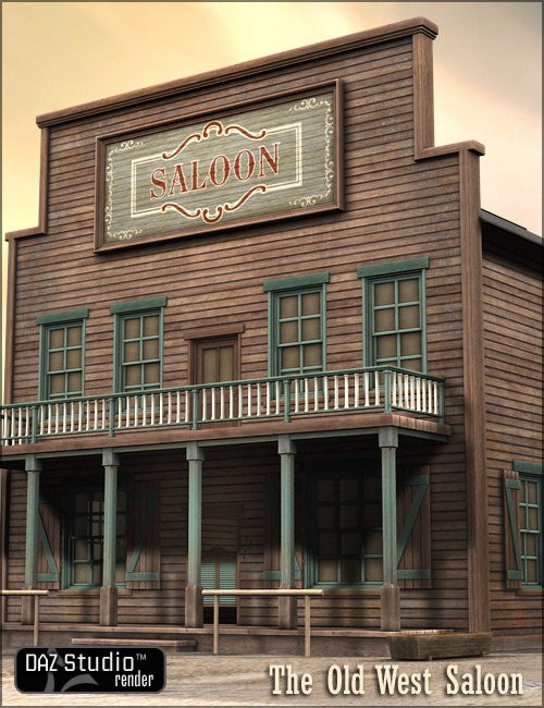 Old West Saloon | Envi...