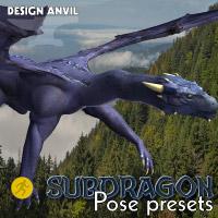 DA Subdragon Pose Pack - Poser edition