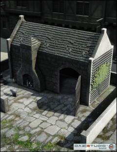 Medieval Village-Smithy