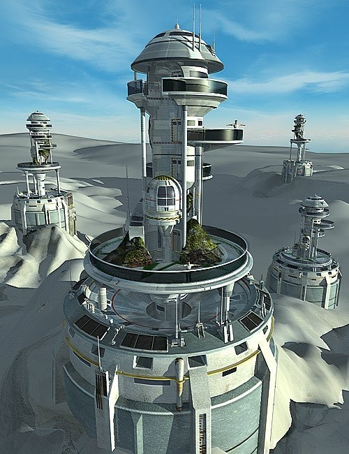 Watchtower Environments And Props For Daz Studio And Poser