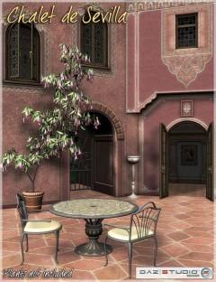 Spanish Rose-- Chalet de Sevilla