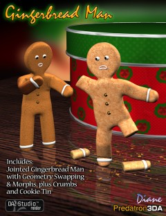 Predatron's Gingerbread Man