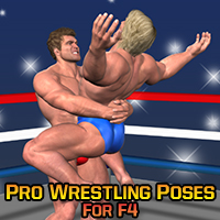 Pro Wrestling Poses for F4