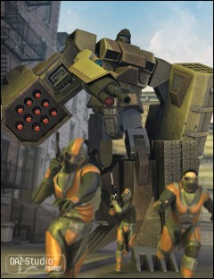 SA 02 Javelin Standing Armor