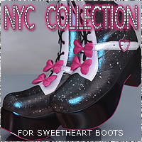 NYC for Sweetheart Boots