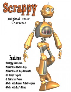Scrappy the Robot