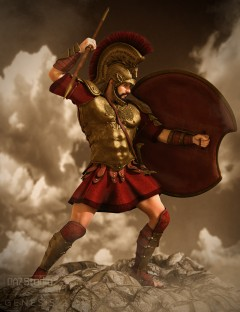 Mec4D Hoplite Soldier for Genesis 2 Male(s)