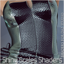 Shiny Scales Shaders