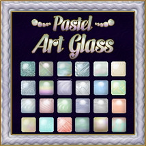 Pastel Art Glass Layer Styles