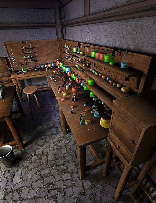 The Mad Chemistry Lab - Chemistry Set
