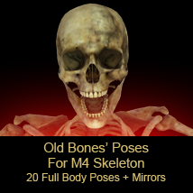 FB Old Bones Poses For M4