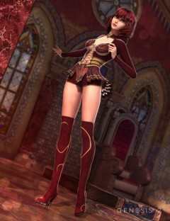 Essina Outfit for Genesis 2 Female(s)
