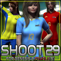 SHOOT 29: Soccer for Genesis 2 Female(s)
