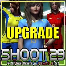 SHOOT 29: Soccer for Genesis 2 Female(s)- UPGRADE