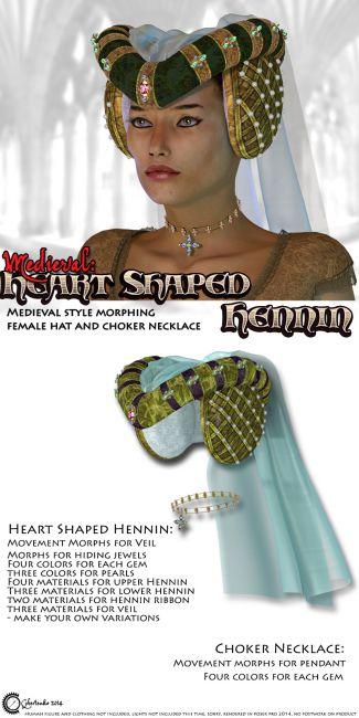 Medieval: Heart Shaped Hennin