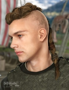 Viking Male Hair for Genesis and Genesis 2 Male(s)