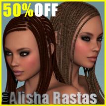 Alisha Rasta Hair for V4 and G2F