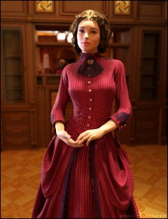 The Victorian Gown for Genesis 2 Female(s)