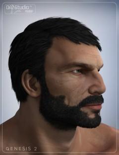 Boris Hair for Genesis 2 Male(s)