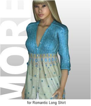 MORE Textures & Styles for Romantic Long Shirt