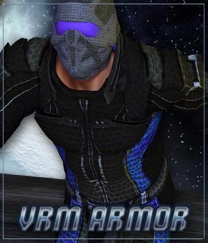 VRM Armor (M4) (for Poser)