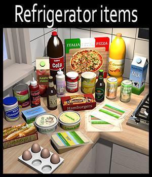 Everyday items, Refrigerator
