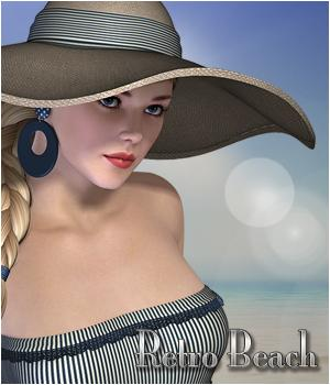 Retro Beach- V4 Outfit