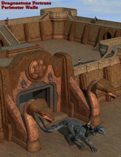 Dragonstone Fortress Perimeter Walls