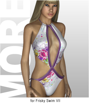 MORE Textures & Styles for Frisky Swim VII
