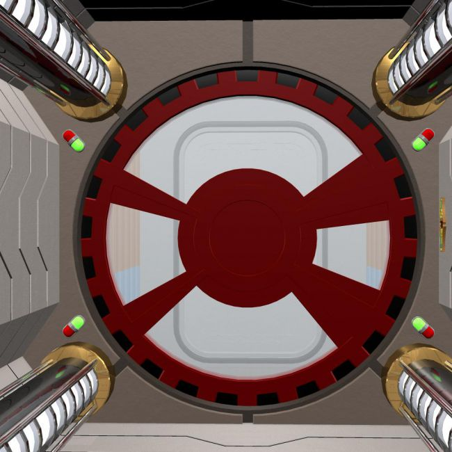 Sci Fi Airlock For Poser Architecture For Poser And