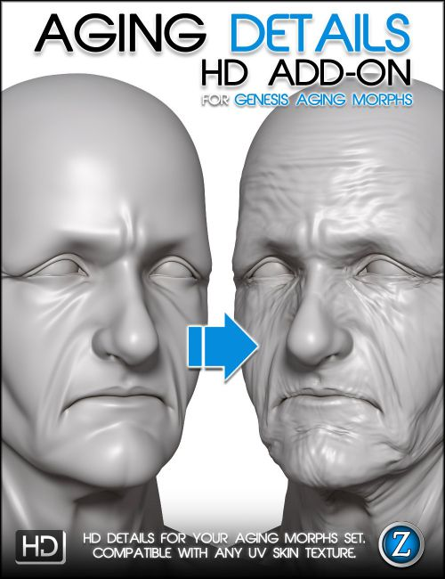 Really. facial wrinkles in poser 7