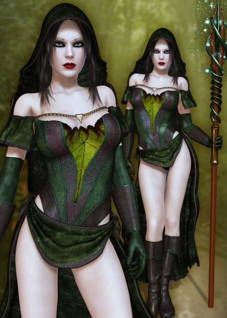 bump hair styles maelstrom wizard accessories for poser and daz studio 1124