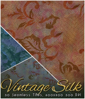 MR-Vintage Silk Fabric