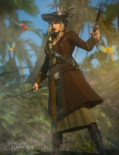 Piratess for Genesis 1 Female(s)