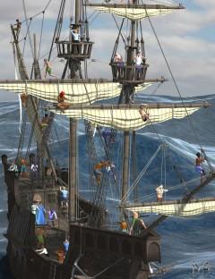Merchant Crew Action