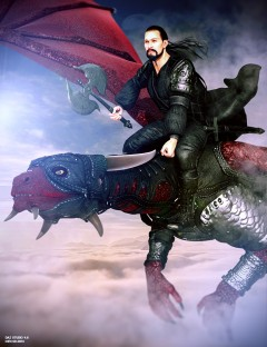 Mec4D Dragon Rider for Genesis 2 Male(s)