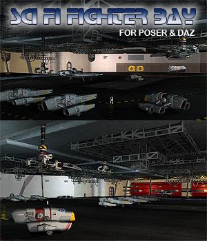 Sci Fi Fighter Bay