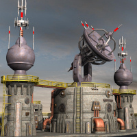 Tartaros Base Comm Towers