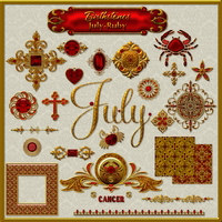 Birthstone Bling!: JULY-RUBY
