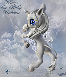 Wings for Baby Unicorn