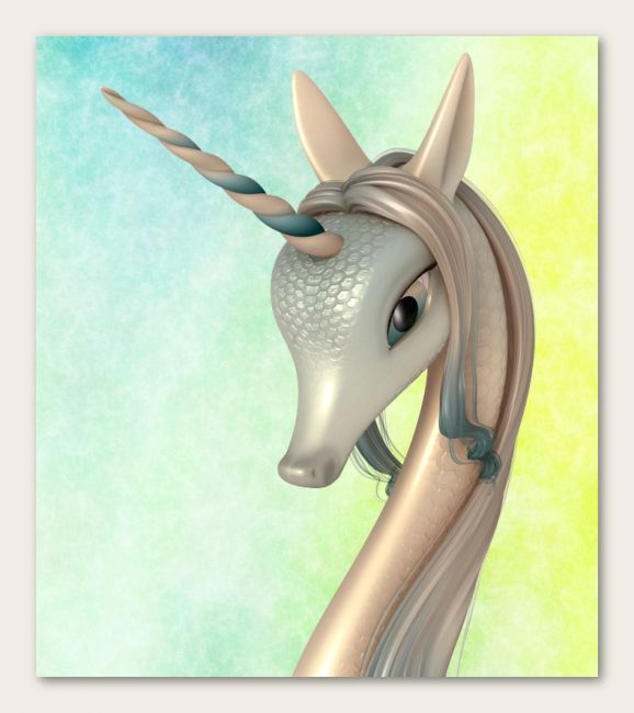 Fairytale Unicorn Chapter 2 for DAZ Studio