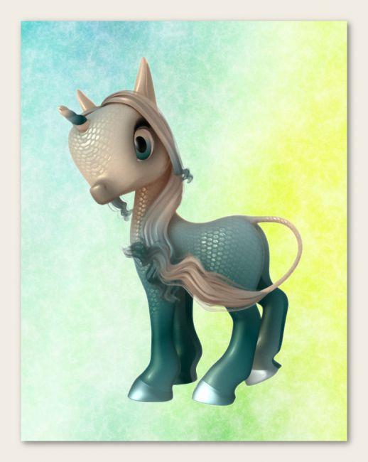 Fairytale Unicorn Baby Chapter 2 for DAZ Studio