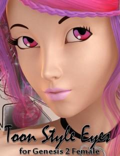 DG Toon Style Eyes for Genesis 2 Female(s)