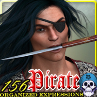 Pirate 156 Organized Expressions