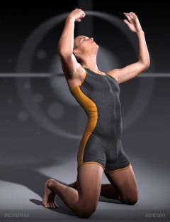 Mec4D Weightlifting Suit for Genesis 2 Male(s)